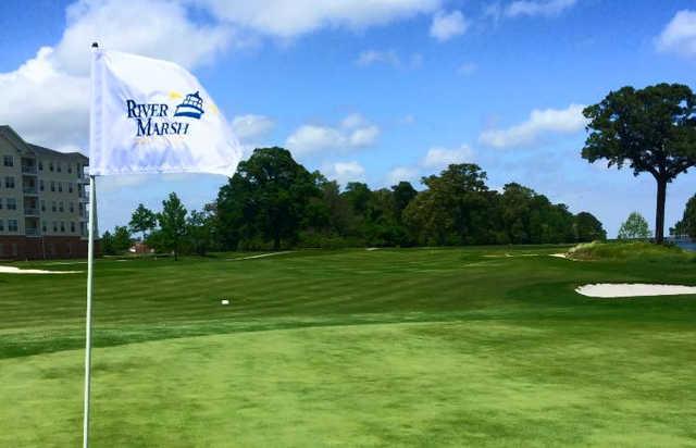 View from River Marsh Golf Club at Hyatt Chesapeake Bay