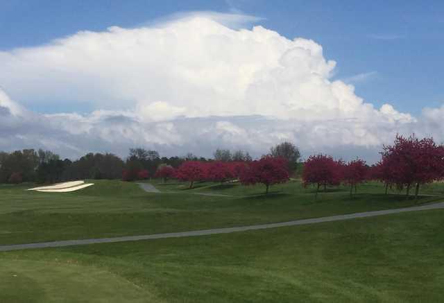 9th tee on River Marsh Golf Club at Hyatt Chesapeake Bay.