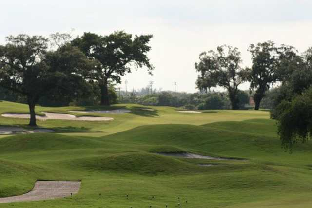 A view of hole #10 at Grande Oaks Golf Club