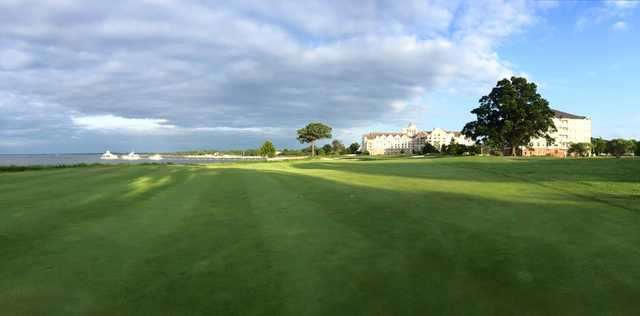 A view from River Marsh Golf Club at Hyatt Chesapeake Bay