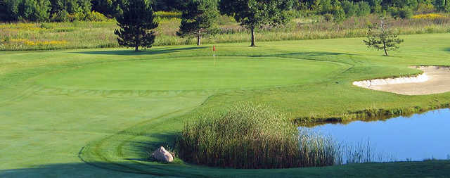 A view of a hole at Riverview Highlands Golf Club.