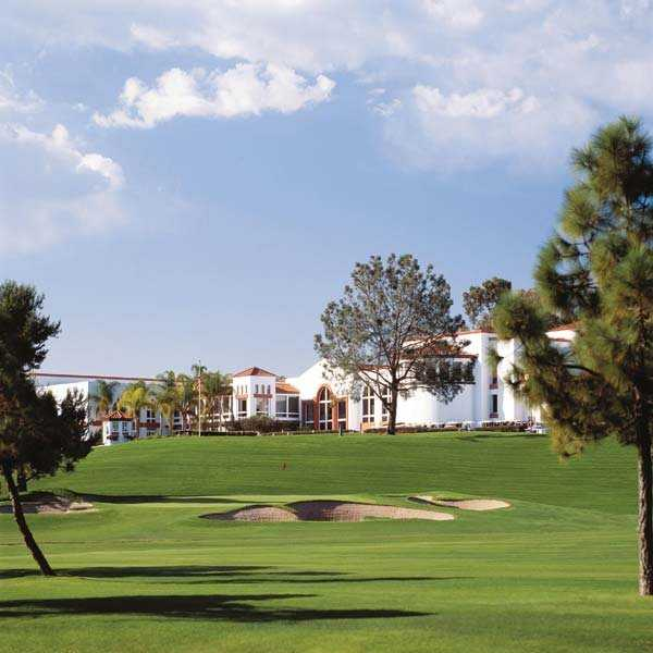 A view of the clubhouse at Omni La Costa Resort & Spa