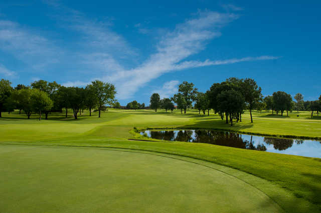 A view of a fairway at Country Club of Missouri.
