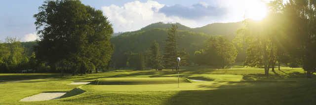 View of the 3rd hole from the Old White Course at Greenbrier