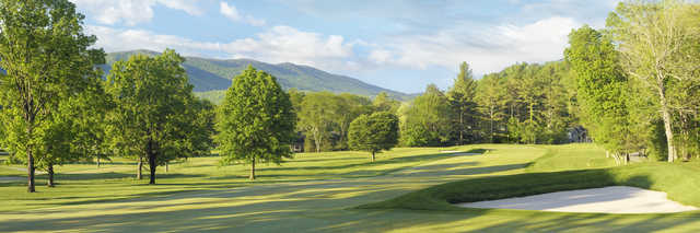 View of the 6th hole from the Old White Course at Greenbrier