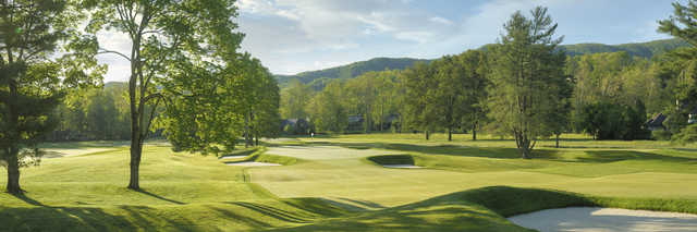 View of the 7th hole from the Old White Course at Greenbrier