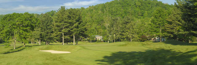 View of the 8th hole from the Old White Course at Greenbrier