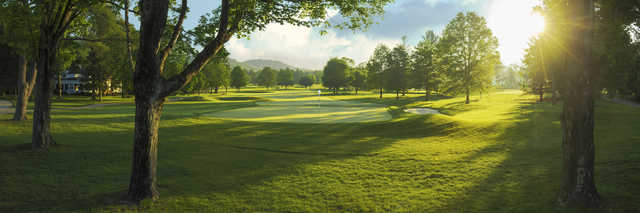 View of the 11th hole from the Old White Course at Greenbrier