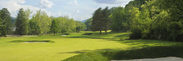View of the 12th hole from the Old White Course at Greenbrier