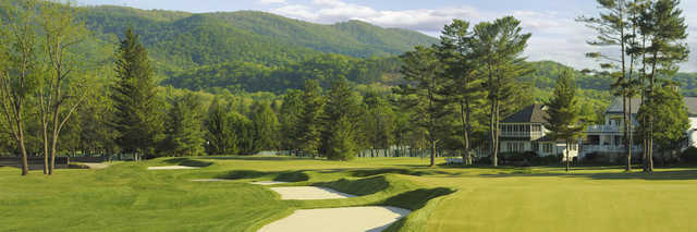 View of the 14th hole from the Old White Course at Greenbrier
