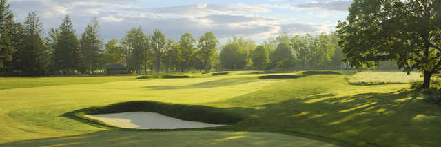 View of the 17th hole from the Old White Course at Greenbrier
