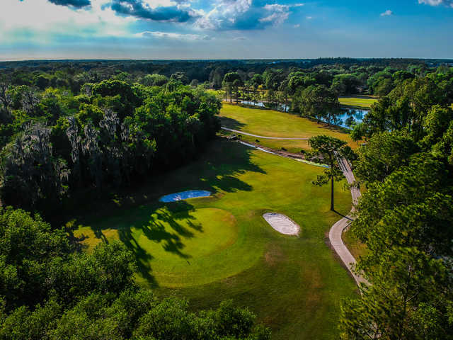 Aerial view from Pebble Creek Golf Club