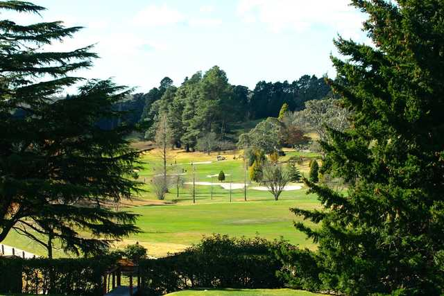 A view from Blackheath Golf Club