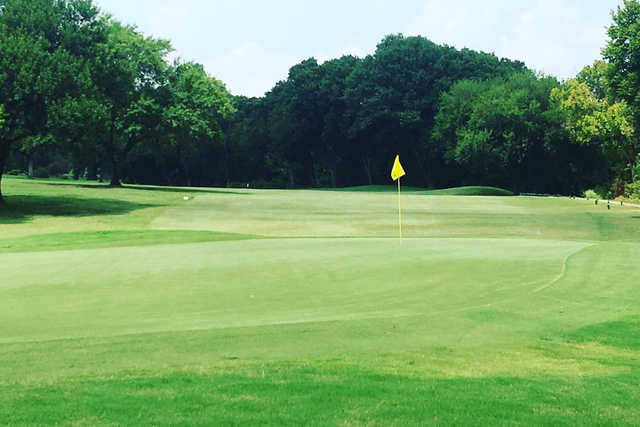 A view of a green at Thorntree Country Club.