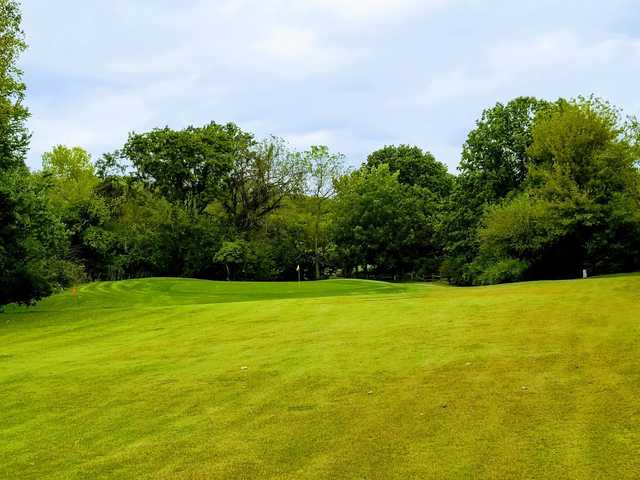 View of a green at Orchards Executive Golf Course