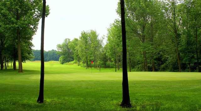 Spring view from Sunset Ridge Golf Club.