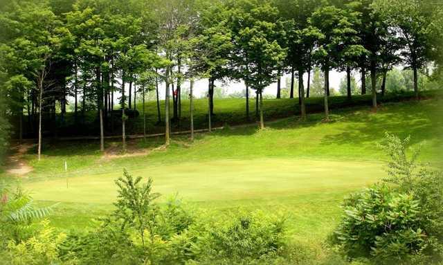 View from Sunset Ridge Golf Club.