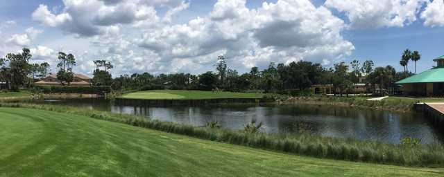 View of the 18th hole at Forest Glen Golf & Country Club