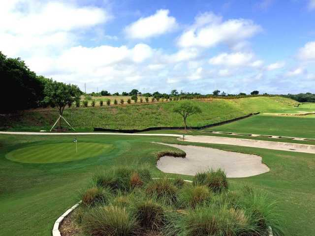 A view of a hole at Star Ranch Golf Course.