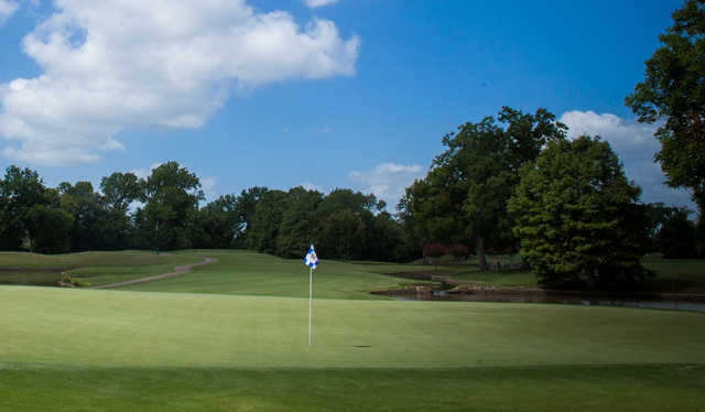 A view of a hole at Sweetwater Country Club.