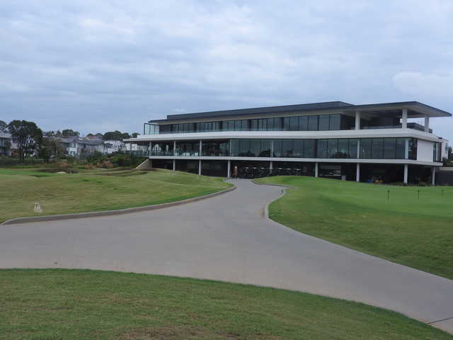 View of the clubhouse at Brighton Lakes Recreation & Golf Club
