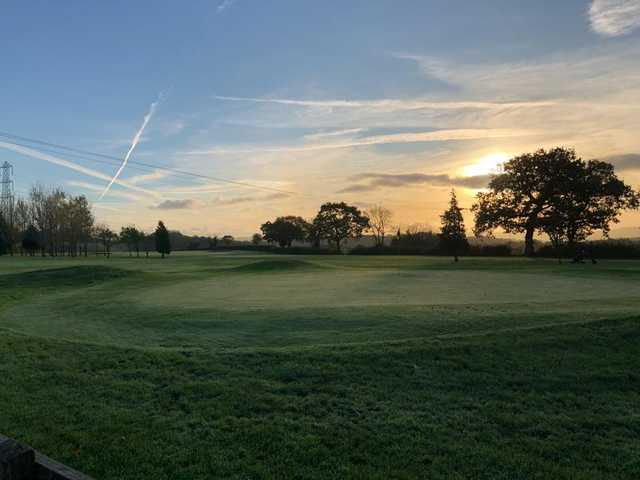 View of a green at Shortwood Lodge Golf Club