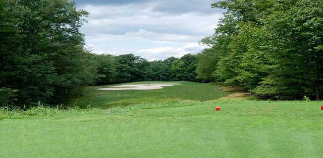 View of the 17th hole at Paupack Hills Golf & Country Club