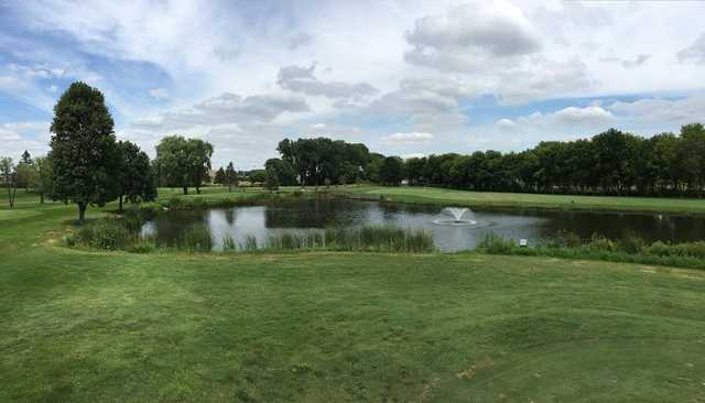 A view over the water from Centerbrook Golf Course.