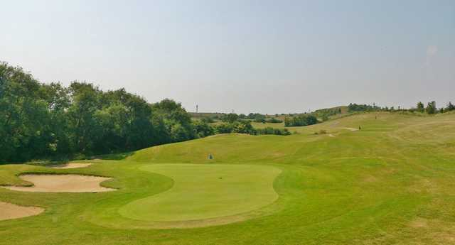 A view of jole #3 at Signature Course from Woodlands Golf & Country Club.