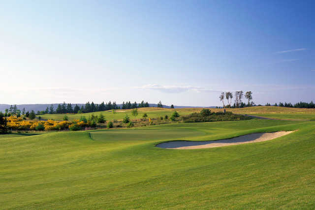 A view of the 16th hole at Home Course.