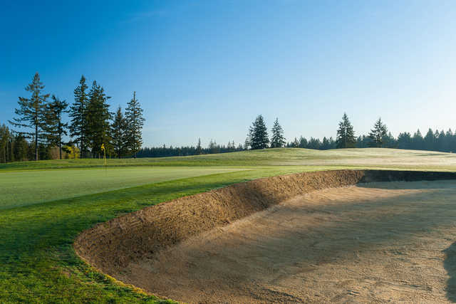 A view of green #12 at Home Course.