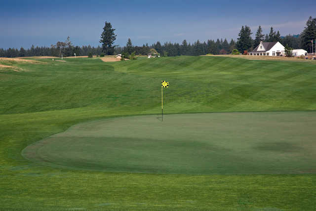 A view of hole #15 at Home Course.