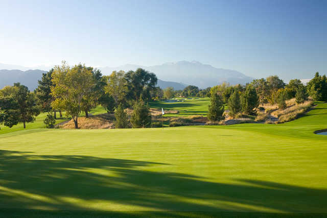 Players Course at Indian Wells Golf Resort: View from #6