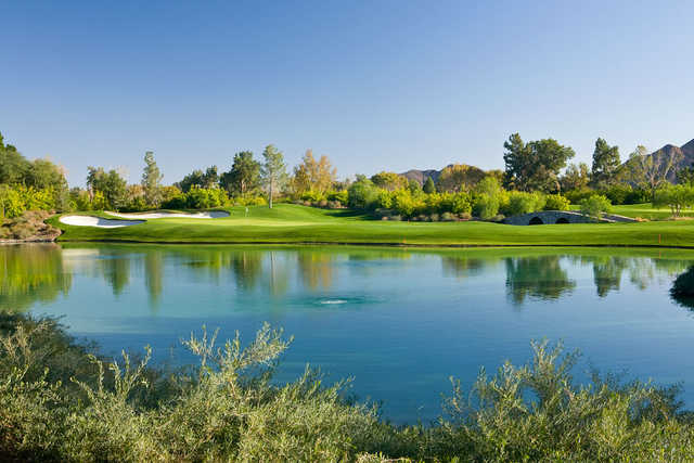 Players Course at Indian Wells Golf Resort: View from #11