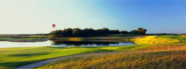 A view of hole #17 at The Legend at Bergamont.