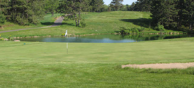 A view of a hole at Timber Ridge Golf Club.