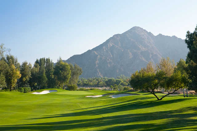 Players Course at Indian Wells Golf Resort: View from #14