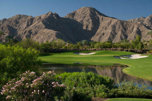 Players Course at Indian Wells Golf Resort: View from #17