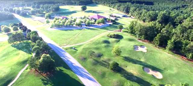 Aerial view from Hunter's Creek Plantation