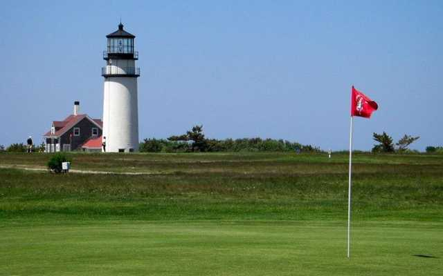 View from a green at Highland Links Cape Cod