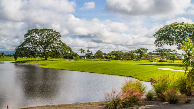 A view over the water from Buenaventura Golf Club.