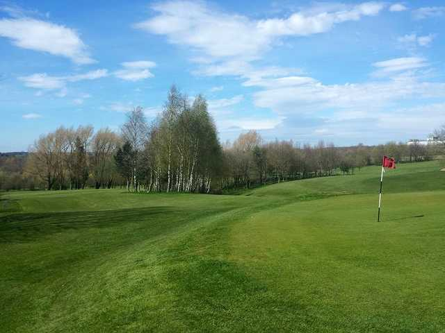 A spring day view from Rutland Sports Park - Pewit Golf Course.