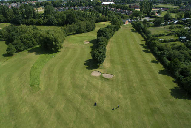 Aerial view from the Pewit Golf Course at Rutland Sports Park