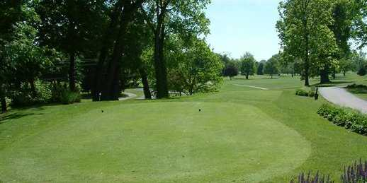 A view from Links at Groveport Golf Course
