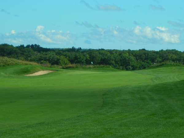 View of a green at Willow Hill Golf Course
