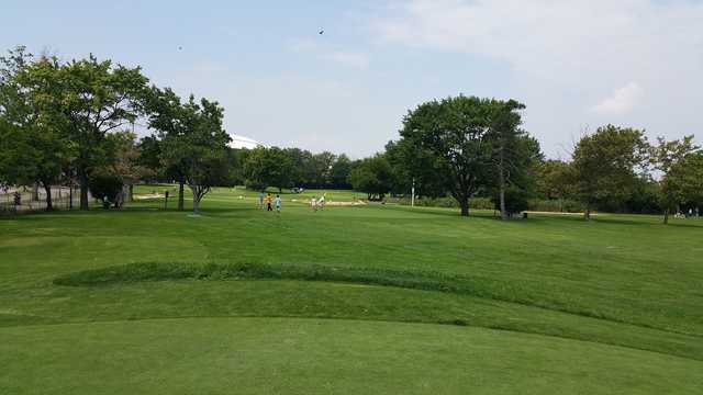 A view from Flushing Meadows Pitch & Putt