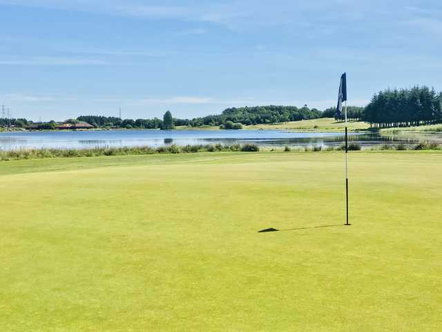 A view from a green at Piperdam Golf & Leisure Resort