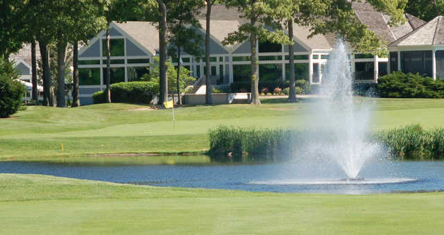 A view of a hole at Kings Creek Country Club.