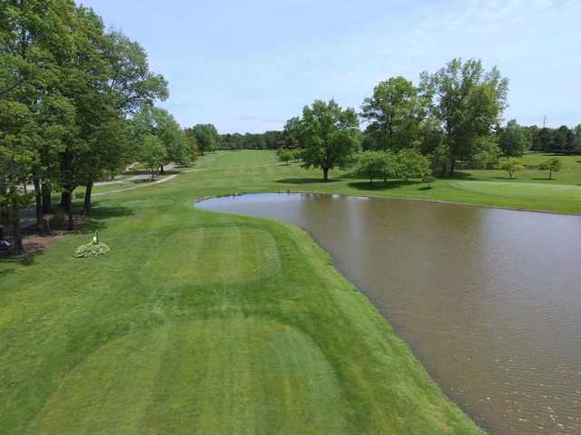 View from the 10th tee at Willow Run Golf Course