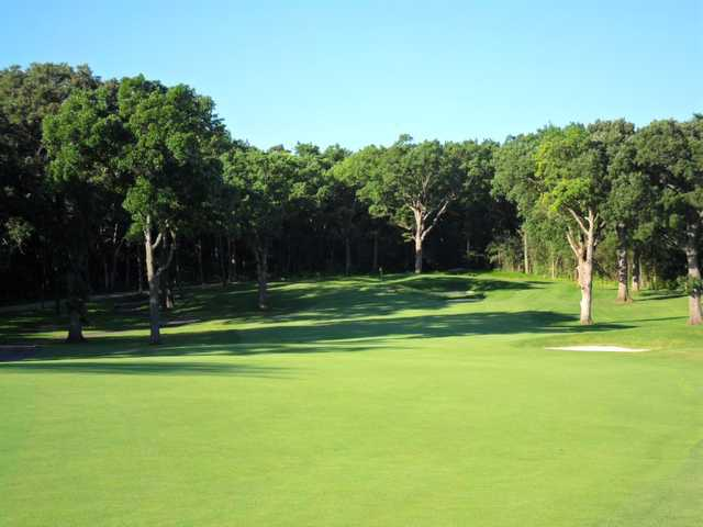 A view from a fairway at Arrowhead Golf Club.